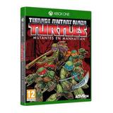 Juego Xbox One Tortugas Ninja