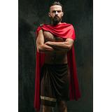 Masculino Griego Spartan Warrior King Leonidas Antiguo