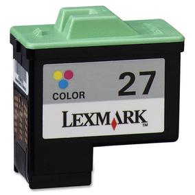 Cartucho De Tinta Lexmark 27 A Color Original
