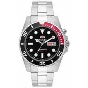 Relógio Orient Automático 469ss068 Estilo Diver Ray Coke Top