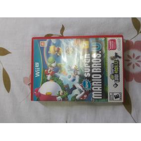 New Super Mario Bros U + New Super Luigi U - Usado