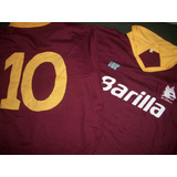 Camiseta Retro As Roma Italia #carlo Ancelotti !!!