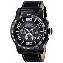 Lindo Relógio Invicta S1 15906 Pulseiracouro Quartz + Maleta