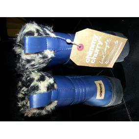 Bota Patagonia Azul Marino Nro 37- Chimmy Churry Sin Uso