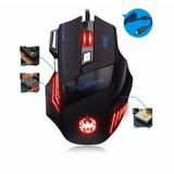 Mouse Gamer 7 Botones Blacklit Presizo Barato Zelotes T80