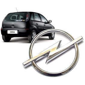 Emblema Opel Tampa Traseira Corsa Novo Hatch 2002 A 2012
