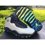 Tenis Nike Air Jordan Retro 10 Rio Brazil Original