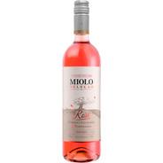 Vinho Miolo Seleção Cabernet/tempranillo Rosé 750ml.