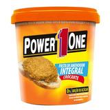Pasta De Amendoim 1kg - Power 1 One + Brinde - Promoção