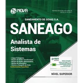 Apostila Analista De Sistemas - Saneago Edital N. 01/2017