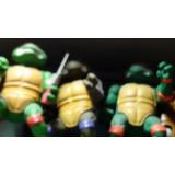 Tortugad Ninja Figuras De Jebe Articuladas Coleccion