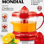 Espremedor Premium Mondial E-23   Cone Extra 30w  Vermelho