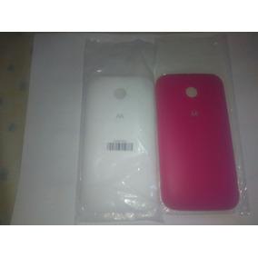 Tapa Trasera Bateria Motorola Xt1021 Moto E Rosada O Blanca
