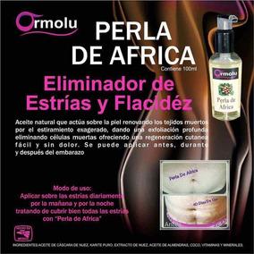 Perla De Africa, Eliminador De Estrias Y Flacidez