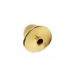 Tarracha Para Brinco Infantil Ouro 18k - Unitário - 2tr1g