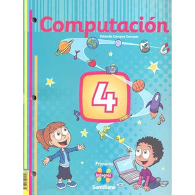 Computación 4 Libro Para Primaria