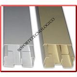 Canaleta Metalica Con Division 8x4 . 10x4 . 12x5
