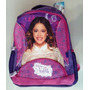 Violetta Disney Morral Bolso Grande Escolar Import Original