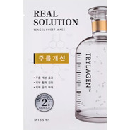 Máscara Facial Cuidado Rugas Real Solution Wrinkle Caring