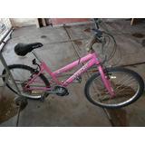 Bicicleta Dama Rod 24 18 Velocidades Y Cuatriciclo A Pedal