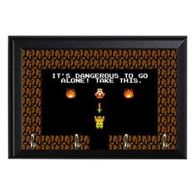 Leyenda Retro De La Placa Decorativa De La Pared De Zelda C