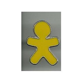 Pin Marcas Logotipo Telefonia Vivo Amarelo
