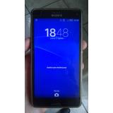 Sony Xperia Z3 Compact Con Detalle En El Touch