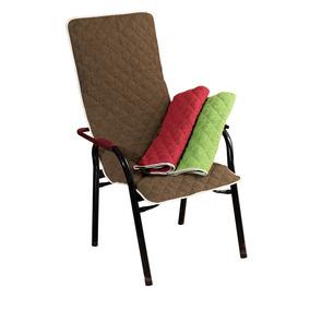 Capa Protetor Para Cadeira De Área Microfibra Varias Cores