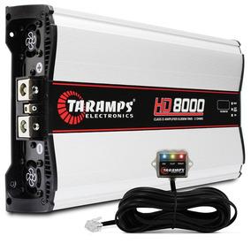 Modulo Taramps Hd 8000 Class D Amplifier 8000w Rms 2 Ohms
