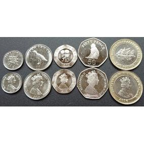 Gibraltar Europa Juego De 4 Monedas Flamantes Serie