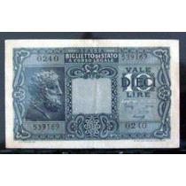 Italia - 10 Liras Año 1944 Excelente B0007