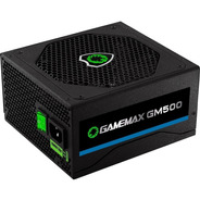 Fonte Gamemax Gm500 500w 80 Plus Bronze - Nova - Sem Caixa