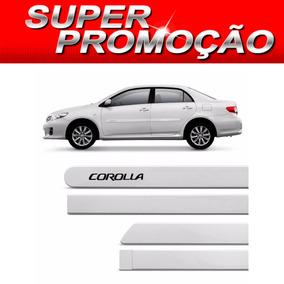 Friso Lateral Toyota Corolla 2012 A 2014 Prata Super Nova ,