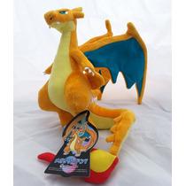 Peluche Pokémon Mega Charizard Y Original Colección 2016