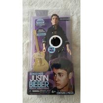 Justin Bieber Muñeco Con Sonido De Colección