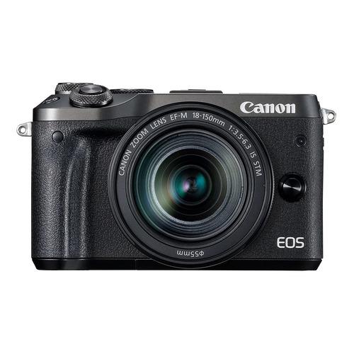 Canon EOS M6 18-150mm IS STM Kit sin espejo color negro