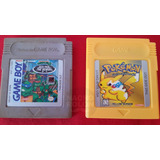 Juego Gameboy Pokemon Yellow Amarillo Marca Game Guarda