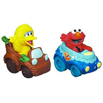 Juguete Sesame Street Elmo Y Big Bird Playskool Racers