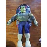 Muñeco Soft Hulk De Tela Licencia Marvel New Toys