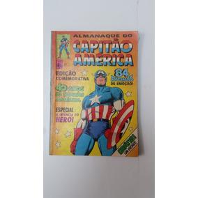 Almanaque Capitao America Nº 29 Editora Abril 1981