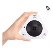 Camara Ip Wifi Inalambrica Seguridad Vr 360 Panoramica Hd