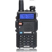 Rádio Comunicador Walk Talk Ht Baofeng Dual Band Uv5r + Nf