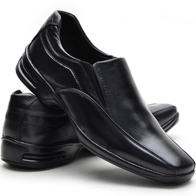 Sapato Social Conforto Masculino Couro Legítimo