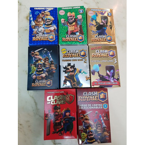 Colección Super Completa Clash Royale Original 8 Mazos