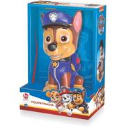 Brinquedo Boneco Patrulha Canina Chase Cofre Cofrinho