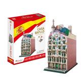 Puzzle 3d Casa Batllo Barcelona Cubicfun C240h