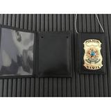 Carteira Com Distintivo E Corr Policia Clvil - Frete Gratis