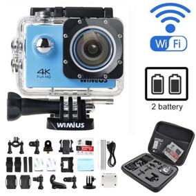 Wimius 4k Wifi Deportivo Acción Cámara 1080p 16mp