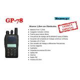 Radio Transmisor Portátil Bidireccional Teamup Gp-78
