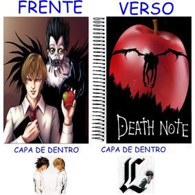 Caderno Do Death Note 10 Materias - 200 Folhas Mod 16